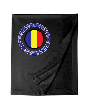 TRADOC Embroidered Dryblend Stadium Blanket -Proud