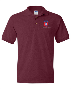 Central Ohio Chapter Embroidered Cotton Polo Shirt
