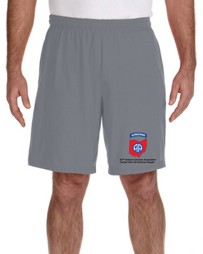 Central Ohio Chapter Embroidered Gym Shorts