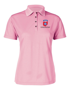 Central Ohio Chapter Ladies Embroidered Moisture Wick Polo Shirt