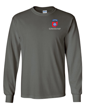 Central Ohio Chapter Long-Sleeve Cotton T-Shirt