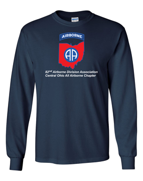 Central Ohio Chapter Long-Sleeve Cotton T-Shirt  FF