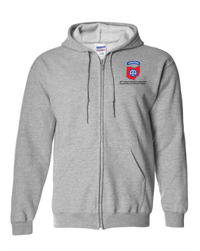 Central Ohio Chapter Embroidered Hooded Sweatshirt with Zipper