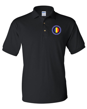 TRADOC Embroidered Cotton Polo Shirt-Proud