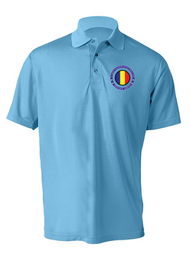 TRADOC Embroidered Moisture Wick Polo Shirt -Proud