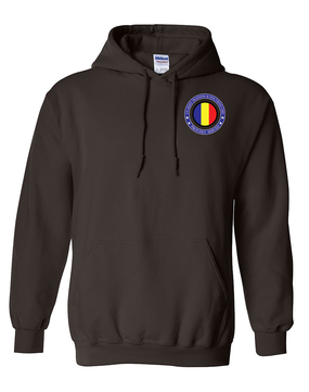 TRADOC Embroidered Hooded Sweatshirt-Proud