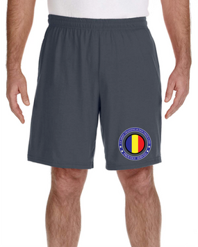 TRADOC Embroidered Gym Shorts-Proud
