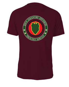 24th Infantry Division Cotton T-Shirt -Proud  FF