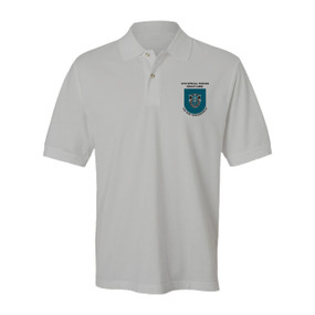 19th Special Forces Group Embroidered Cotton Polo Shirt