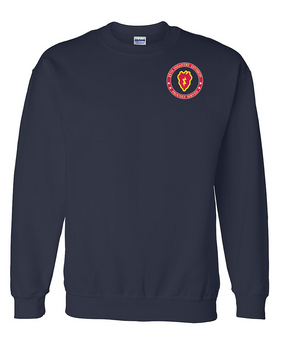25th Infantry Division Embroidered Sweatshirt-Proud
