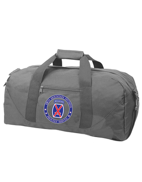 10th Mountain Division Embroidered Duffel Bag-Proud
