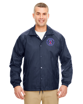 10th Mountain Division Embroidered Windbreaker -Proud