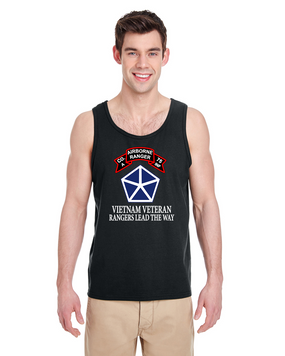V Corps Company A 75th Infantry Tank Top-FF
