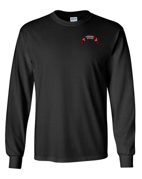 Company A 75th Infantry Long-Sleeve Cotton T-Shirt