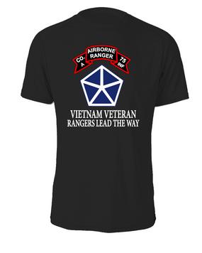 V Corps Company A 75th Infantry Cotton Shirt -FF
