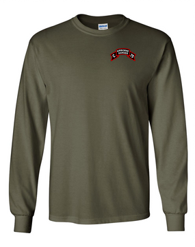 Company C   75th Infantry Long-Sleeve Cotton T-Shirt