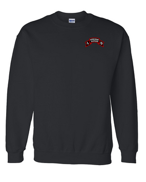 Company  C  75th Infantry Embroidered Sweatshirt