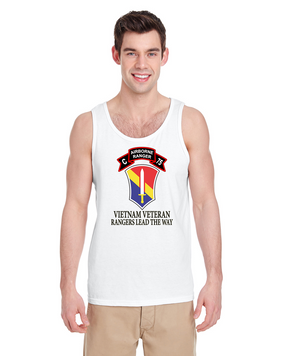 I Field Force  Company C  75th Infantry Tank Top-FF