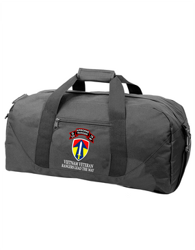 II Field Force Company D   75th Infantry Embroidered Duffel Bag