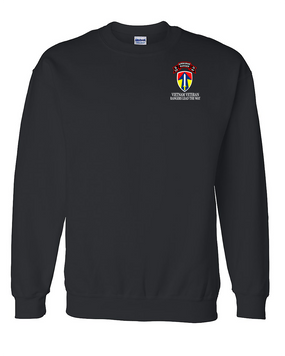 II Field Force Company  D  75th Infantry Embroidered Sweatshirt