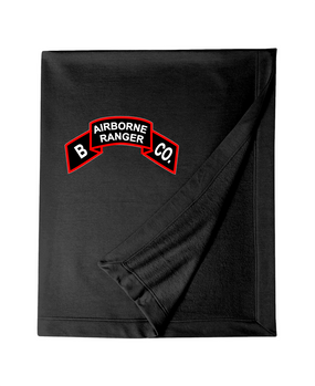 Company B  75th Infantry Embroidered Dryblend Stadium Blanket