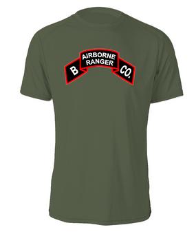 Company B  75th Infantry Cotton Shirt -FF