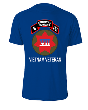 VII Corps Company B  75th Infantry Cotton Shirt -FF