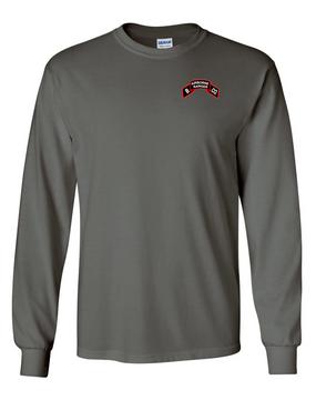 Company B  75th Infantry Long-Sleeve Cotton T-Shirt