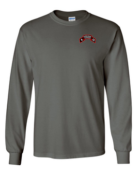 Company B  75th Infantry Long-Sleeve Cotton T-Shirt