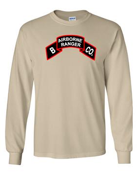 Company B  75th Infantry Long-Sleeve Cotton T-Shirt-FF