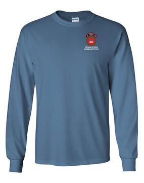 VII Corps Company B  75th Infantry Long-Sleeve Cotton T-Shirt RLTW