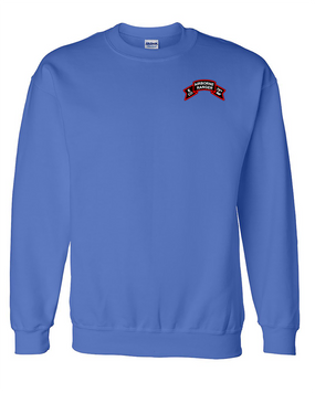 Company  E  75th Infantry Embroidered Sweatshirt