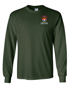 9th Infantry Division Company E  75th Infantry Long-Sleeve Cotton T-Shirt