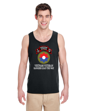 9th Infantry Division Company E  75th Infantry Tank Top -FF