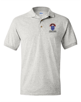 23rd Infantry Division Company G  75th Infantry Embroidered Cotton Polo Shirt