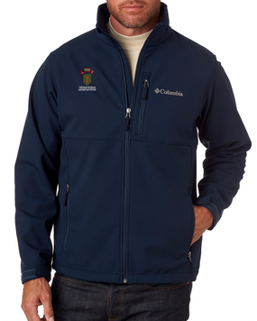1st Infantry Division Company I  75th Infantry Embroidered Columbia Ascender Soft Shell Jacket