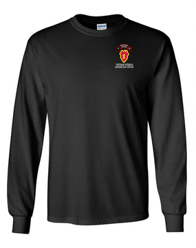 25th Infantry Division Company F  75th Infantry Long-Sleeve Cotton T-Shirt