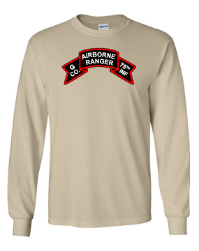 G Company  75th Infantry Long-Sleeve Cotton T-Shirt-FF