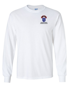 23rd Infantry Division G Company  75th Infantry Long-Sleeve Cotton T-Shirt