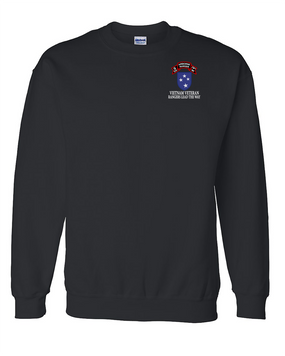 23rd Infantry Division  G Company  75th Infantry Embroidered Sweatshirt
