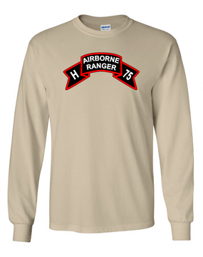 H Company  75th Infantry Long-Sleeve Cotton T-Shirt -FF
