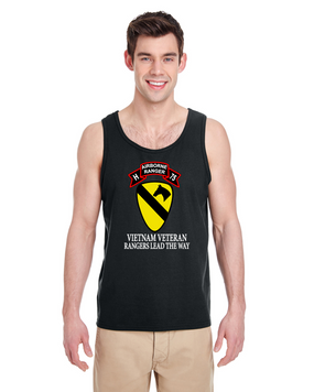 1st Cavalry Division Company H  75th Infantry Tank Top -FF