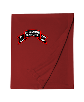 P Company 75th Infantry Embroidered Dryblend Stadium Blanket