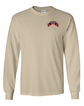 P Company 75th Infantry Long-Sleeve Cotton T-Shirt