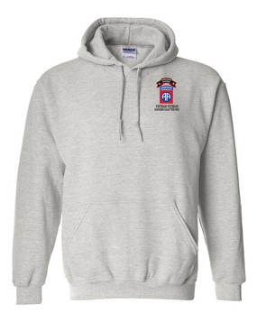 82nd Airborne Division O Company 75th Infantry Embroidered Hooded Sweatshirt