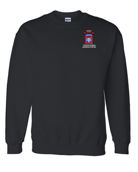 82nd Airborne Division O Company 75th Infantry Embroidered Sweatshirt