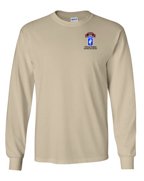 173rd Airborne N Company 75th Infantry Long-Sleeve Cotton T-Shirt