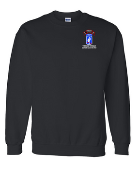 173rd Airborne N Company 75th Infantry Embroidered Sweatshirt