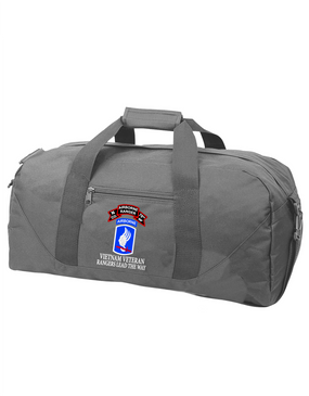 173rd Airborne N Company 75th Infantry Embroidered Duffel Bag