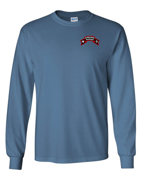 M Company 75th Infantry Long-Sleeve Cotton T-Shirt